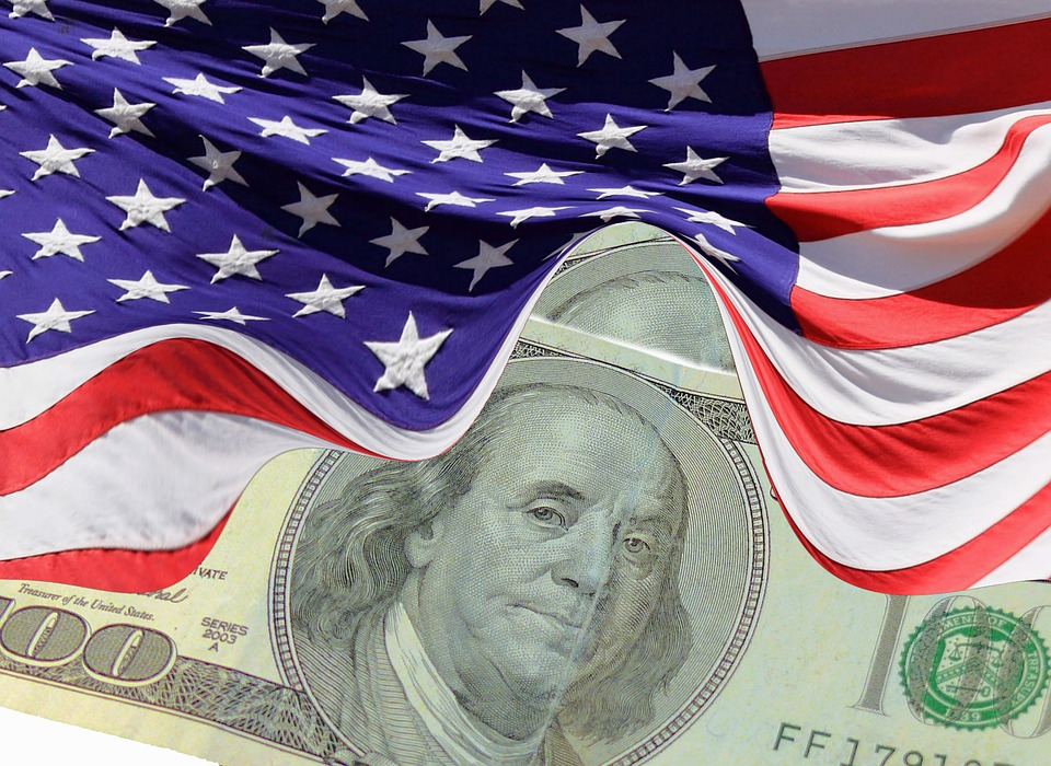 dolary a vlajka