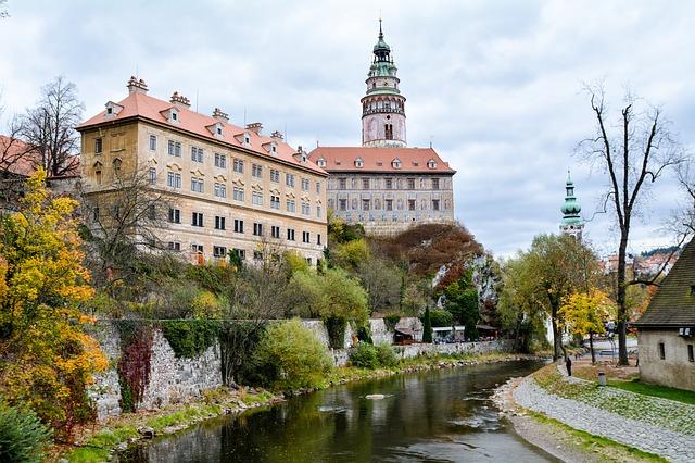 zámek v Krumlově