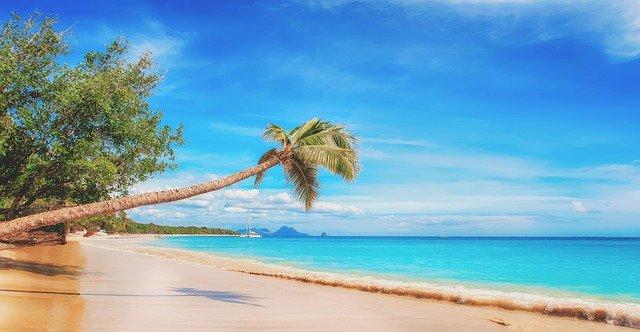 pláž karibik